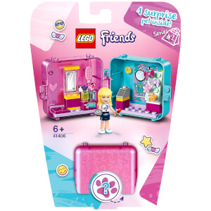 LEGO Friends: Stephanie's Shopping Play Cube Playset (41406)