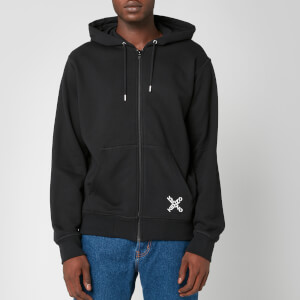 KENZO Men's Sport Full Zip Hoodie - Black