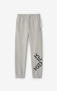 KENZO Men's Sport Big X Jogging Pants - Pearl Grey