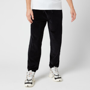 KENZO Men's Velvet Mix Sweatpants - Black