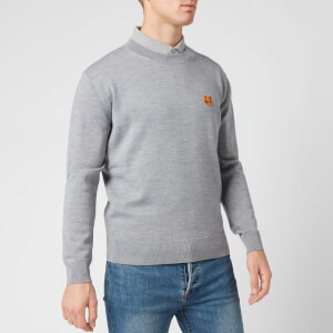 KENZO Men's Tiger Crest Jumper - Dove Grey