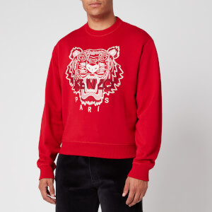 KENZO Men's Classic Tiger Sweatshirt - Cherry