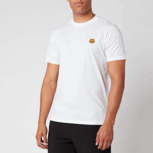 KENZO Men's Tiger Crest T-Shirt - White