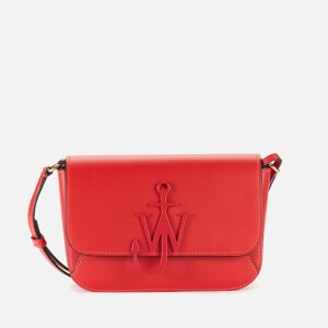 JW Anderson Women's Braided Midi Anchor Bag - Cherry
