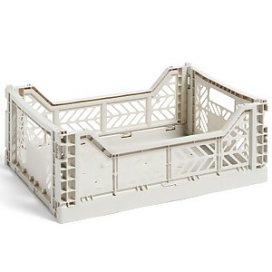 HAY Colour Crate - Light Grey - M