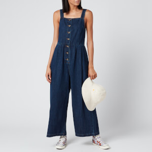 L.F Markey Women's Jorn Dungaree Boilersuit - Indigo