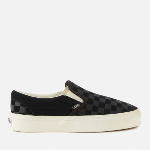 Vans Classic Checker Slip-On Trainers - Black