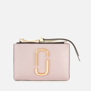 Marc Jacobs Women's Top Zip Multi Wallet - Dusty Lilac Multi