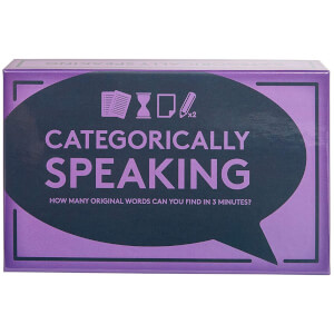 Categorically Speaking Game