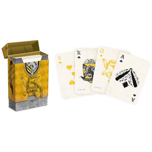 Harry Potter House Playing Cards - Hufflepuff