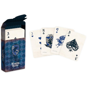 Harry Potter House Playing Cards - Ravenclaw
