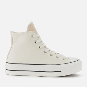 Converse Women's Chuck Taylor All Star Lift Hi-Top Trainers - Pale Putty/Farro/Egret