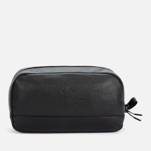 Armani Exchange Men's Wash Bag - Black