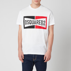 Dsquared2 Men's Built Tuff Cool Fit T-Shirt - White