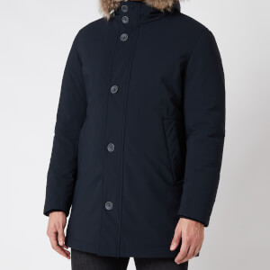 Herno Men's Fur Hooded Parka - Navy