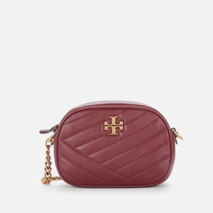 Tory Burch Women's Kira Chevron Small Camera Bag - Imperial Garnet