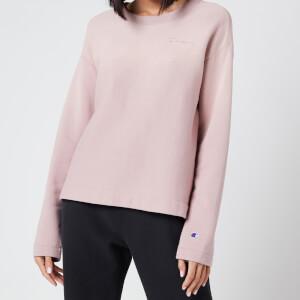 Champion Women's Crewneck Sweatshirt - Mauve