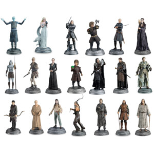 Lot de 22 Figurines Games of Thrones - Ed. collector Deluxe Eaglemoss (Set 2)