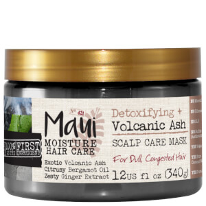 Maui Moisture Detoxifying+ Volcanic Ash Hair Mask 340g