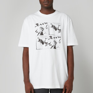 Lanvin Men's Cartoon Print T-Shirt - White
