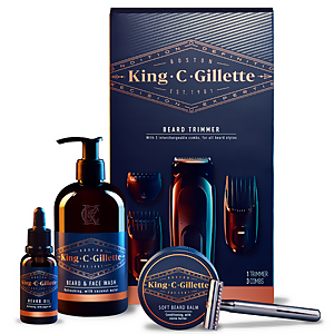 King C. Gillette Ultimate Beard Grooming Kit
