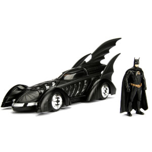 Jada Diecast 1:24 Batman Forever Batmobile with Figure
