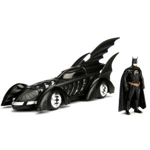 Jada Diecast 1:24 Batman Forever Batmobile with Figure