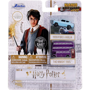 Jada Diecast Harry Potter Nano Hollywood Rides 2 Vehicle Set