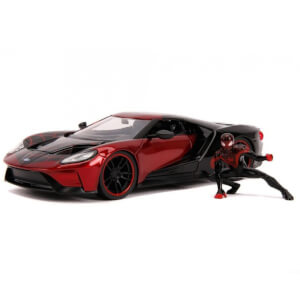 Jada Diecast 1:24 2017 Ford GT with Miles Morales Figure
