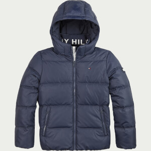 Tommy Hilfiger Boys' Essential Down Jacket - Twilight Navy