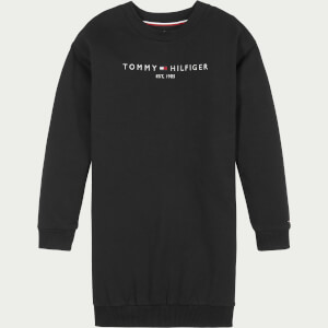 Tommy Hilfiger Girls' Essential Sweatshirt Dress - Black