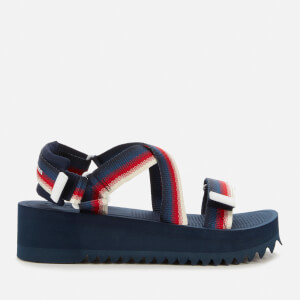 Tommy Jeans Women's Degrade Tape Flatform Sandals - Twilight Navy