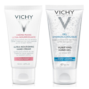 Vichy Hand Sanitiser Gel (Various Sizes)