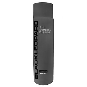 Black Leopard 2-in-1 Shampoo & Body Wash 300ml