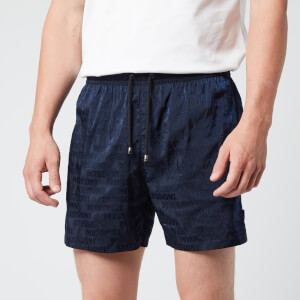 Missoni Men's Logo Print Drawcord Swim Shorts - Navy