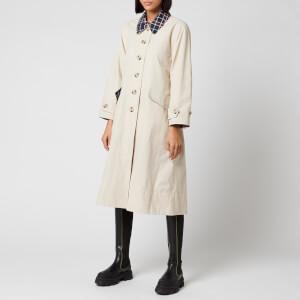 Barbour X Alexa Chung Women's Glenda Casual Jacket - Mist/Red Navy Tartan