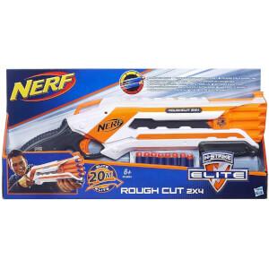Nerf Rough Cut 2x4 Elite Blaster