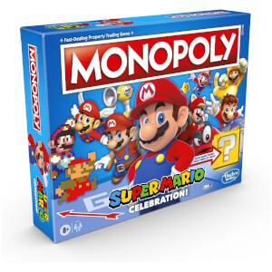 Monopoly Super Mario Celebration Board Game