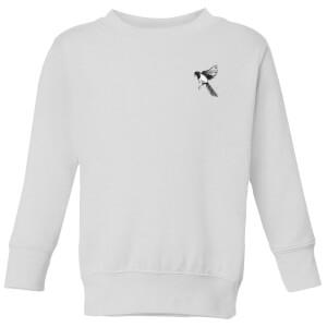 Snowtap Magpie Kids' Sweatshirt - White