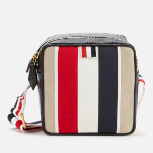 Thom Browne Women's Military Canvas Stripe Cross Body Bag - Natural