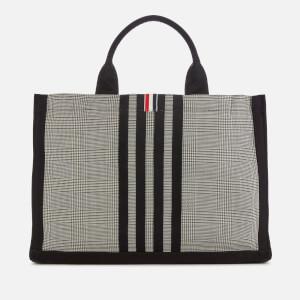 Thom Browne Women's Squared Tote Bag - Black/White