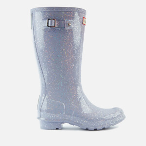 Hunter Kids' Original Giant Glitter Wellies - Pulpit Purple