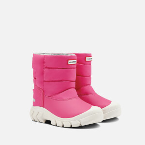 Hunter Kids' Snow Boots - Bright Pink