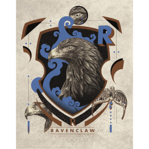 Harry Potter Art Print : Ravenclaw Crest