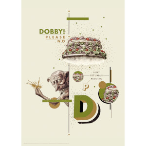 Harry Potter Premium Limited Edition Art Print : Dobby No!