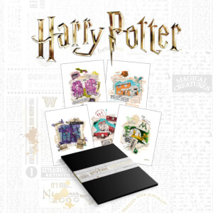 Harry Potter Premium Lithograph Set of 10 Art Prints