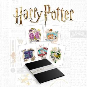Harry Potter Premium Lithograph Set of 10 Art Prints
