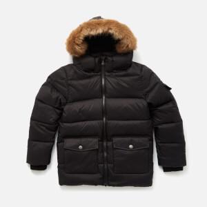 Pyrenex Boys' Authentic Mat Faux Fur Jacket - Black