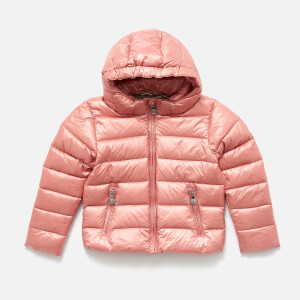 Pyrenex Girls' Spoutnic Shiny Jacket - Dragee