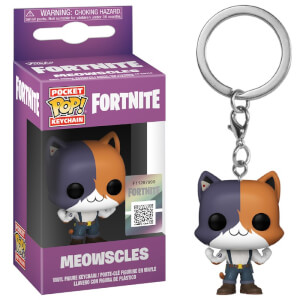 Fortnite Meowscles Funko Pop! Vinyl Keychain